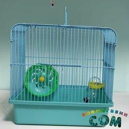 Клетки и домики  - АЛИСА 026 # клетка для грызунов 27,5*50,5*26,5см, 0