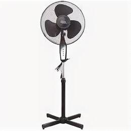 Вентиляторы - Вентилятор Oasis VF-40PB (черный, напольный, 2шт/уп, подсветка, 3 скорости), 0