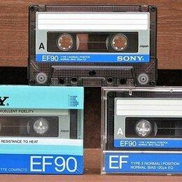 "Музыкальные CD и аудиокассеты - Аудиокассеты  Sony EF 90 -СССР 85г-не ""improved"", 0"