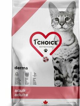 Корма  - 1st CHOICE GF Derma корм для коше. Доставим в…, 0