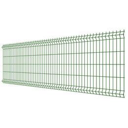 Заборы, ворота и элементы - Панель MEDIUM 1,03х2,50м RAL6005 Зеленый Мох сварная 3Д сетка гиттер, 0