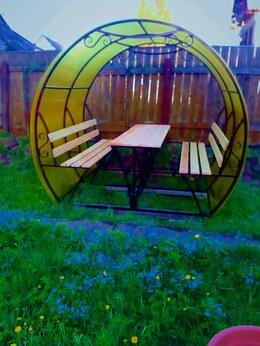 Комплекты садовой мебели - Металлические беседки, 0