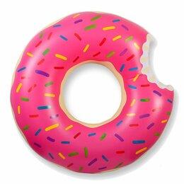 Надувные игрушки - Donut Swimming Ring Надувной круг Пончик 100 см, 0