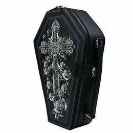 Сумки - Новая Сумка гроб, Рюкзак Гроб, клатч, 0