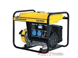 Электрогенераторы - Генератор бензиновый Champion GG 3000, 0