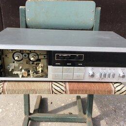 Музыкальные центры,  магнитофоны, магнитолы - Стереофоническая  магнитофон-приставка кассетная. Яуза, 0