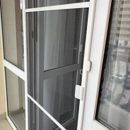 Окна - Москитные сетки на окна и двери любых размеров в белом и коричневом цвете, 0