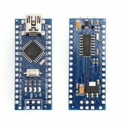 Прочие комплектующие - Arduino Nano V3.0 5V Mini USB ATmega328 16M CH340G, 0