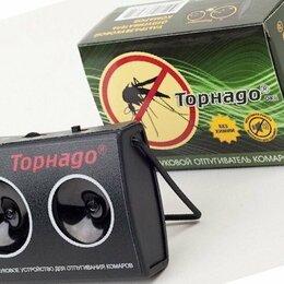 Отпугиватели и ловушки для птиц и грызунов - Ультразвуковой электронный отпугиватель комаров для дачи Торнадо ОК 01, 0