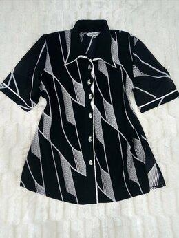 Блузки и кофточки - Шифоновая блуза(52-54), 0