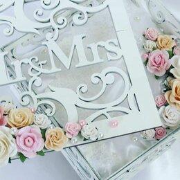 Свадебные украшения - Свадебная шкатулка для колец, 0