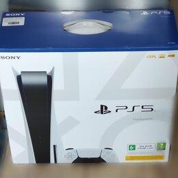 Игровые приставки - Sony playstation 5 с дисководом.рст.Новые, 0