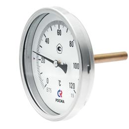 Элементы систем отопления - Термометр биметаллический БТ-30.010 (0-150C) накладной, 0