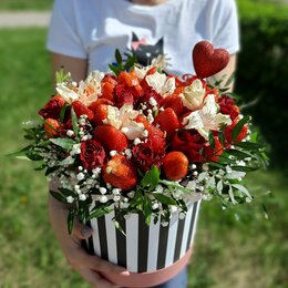 Цветы, букеты, композиции - Фруктовый букет , 0