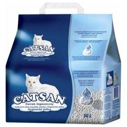 Наполнители для туалетов - Catsan (впитывающий наполнитель 10л), 0