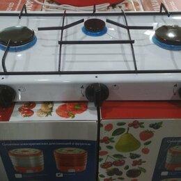 Плиты и варочные панели - Плита газовая настольная 3-х конфорочная (для баллоного газа) Новая, 0