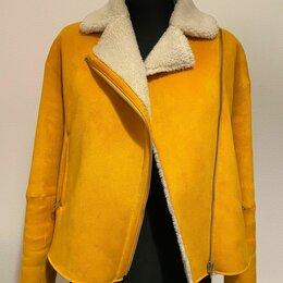 Дубленки - Женская дубленка Zara (шарф в подарок), 0