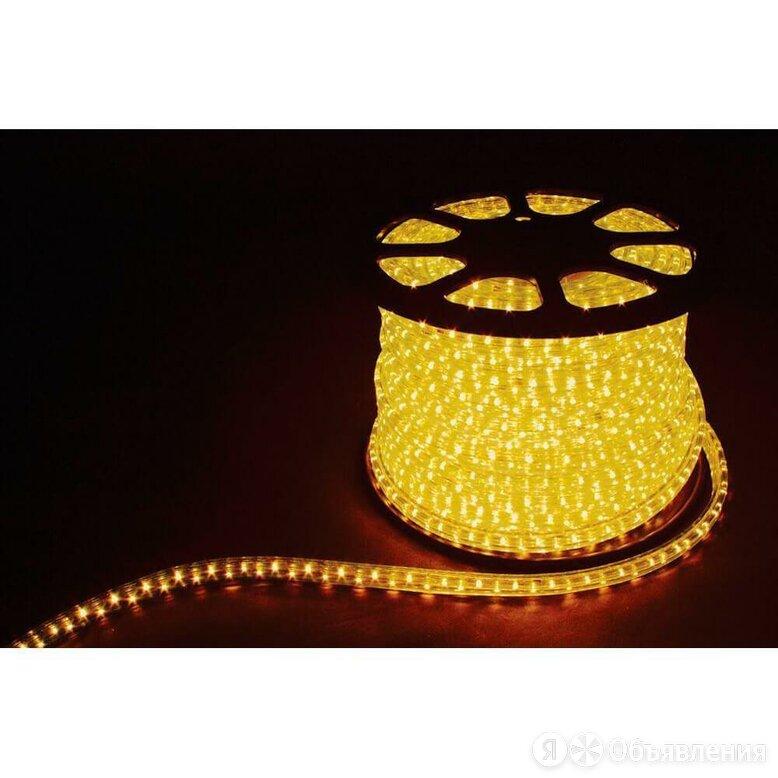 Светодиодный дюралайт Feron 1,44W/m 36LED/m LEDR2W 2х жильный желтый 100М 26062 по цене 314₽ - Интерьерная подсветка, фото 0