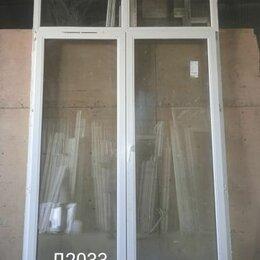 Готовые конструкции - Дверь пластиковая балконная штульповая (б/у) 2720(в)х1740(ш), 0