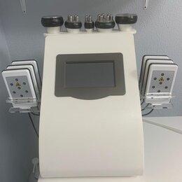 Оборудование для аппаратной косметологии и массажа - 6 в 1 кавитация, rf, вакуум+rf, лазерный липолиз wl-675a, 0