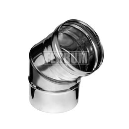 Дымоходы - Колено угол 135° (430/0,8 мм) D 150 Ferrum, 0