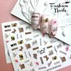 Слайдер-дизайн FashionNails White по цене 90₽ - Новогодний декор и аксессуары, фото 1