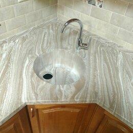 Кухонные мойки - Интегрированная раковина из мрамора, 0