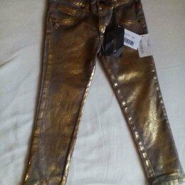 Джинсы - Новые золотые джинсы 5 Microbe Италия 104-110, 0