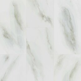 Плитка ПВХ - Кварцевый ламинат Fargo Stone 6089-1 Белый Мрамор, 0
