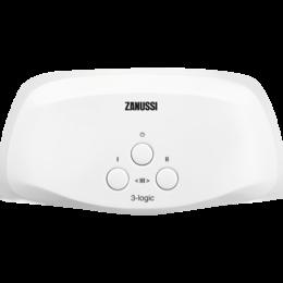 Водонагреватели - Водонагреватель проточный Zanussi 3-logic 5,5 TS (душ+кран), 0