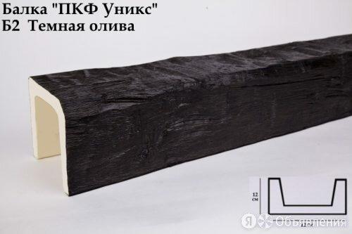 Балка из Полиуретана Уникс Классика Б2 Темная Олива Д3000хШ120хВ120 мм Умерен... по цене 3172₽ - Металлопрокат, фото 0