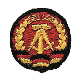 Жетоны, медали и значки -  Кокарда ННА ГДР, 0