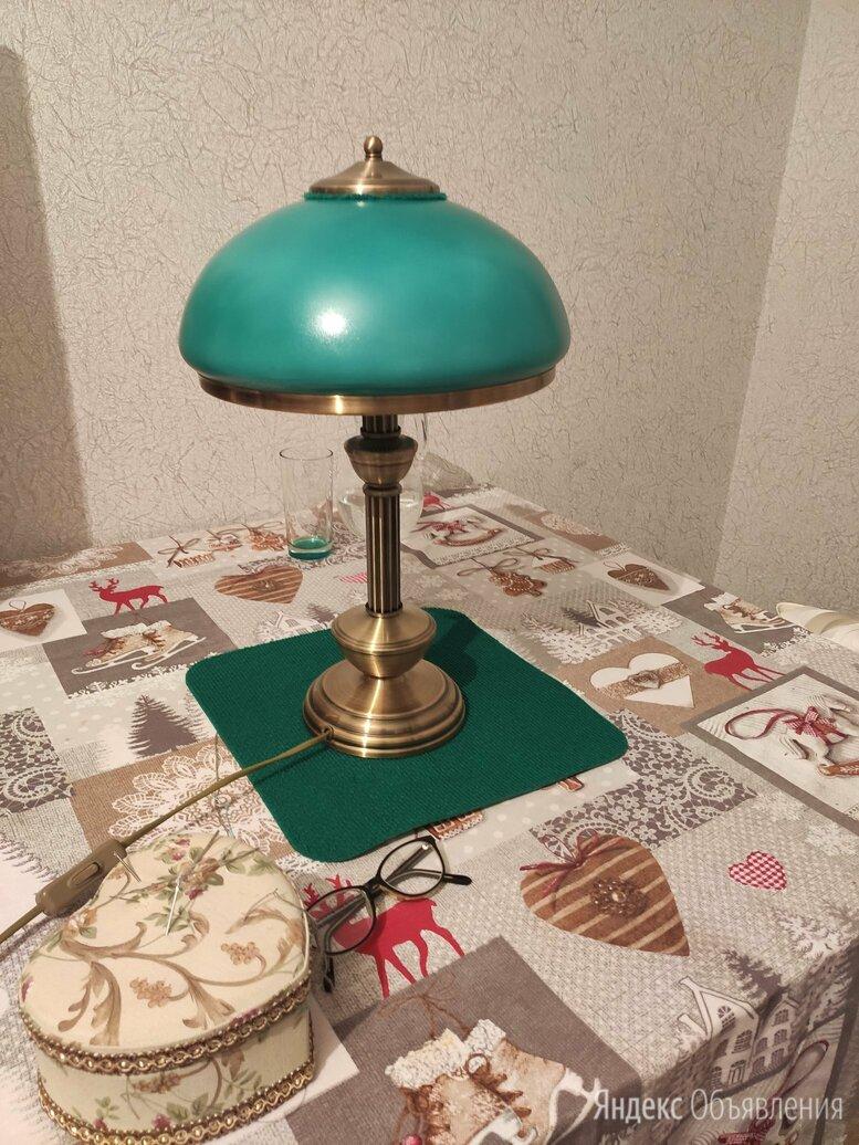 Лампа настольная зелёная по цене 5400₽ - Настольные лампы и светильники, фото 0