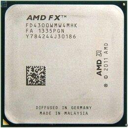 Процессоры (CPU) - Процессор FX 4300, AM3+ сокет, 4 x 3800 мгц, 0
