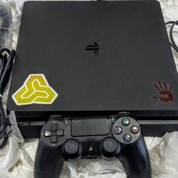 Игровые приставки - PS4 Slim. 25 игр. 1000 гб. Вариант 2.Обмен на PS3, 0
