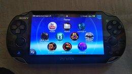 Игровые приставки - Sony PS Vita, 16gb, 3g/WiFi, 8 игр!, 0