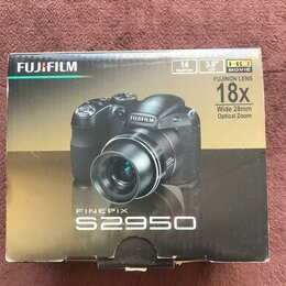 Фотоаппараты - Цифровой фотоаппарат Fujifilm FinePix S2950, 0