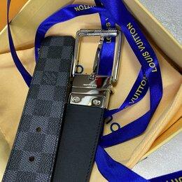 Ремни, пояса и подтяжки - Ремень Louis Vuitton MEN натуральная кожа, 0