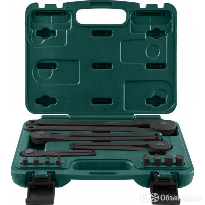 Универсальный набор радиусных ключей для удержания шкивов и маховиков Jonnesw... по цене 9120₽ - Наборы инструментов и оснастки, фото 0