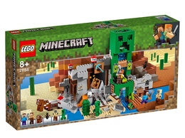 Конструкторы - Конструктор LEGO Minecraft Шахта крипера, 0
