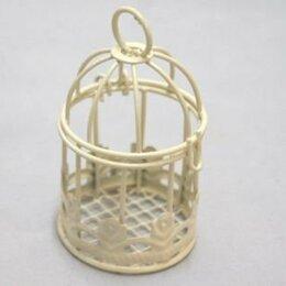 Рукоделие, поделки и сопутствующие товары - 22496 Клетка Y-745 (4 5см*7 0см) металл. молочная -, 0