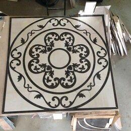 Плитка из керамогранита - Гидроабразивная резка керамогранита, изготавливаем Панно, Ковры, 0