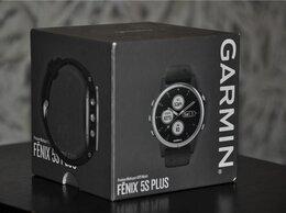 Умные часы и браслеты - Garmin Fenix 5S Plus Silver / Black (новые,…, 0