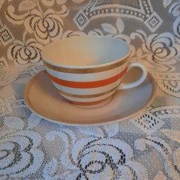 Посуда - Чайная пара СССР.Большая, 0