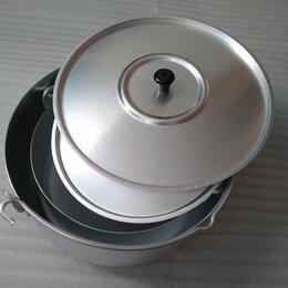 Туристическая посуда - Комплект котелков, 0