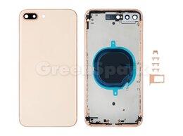 Корпусные детали - Корпус для iPhone 8 Plus european version (золото), 0
