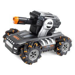 Радиоуправляемые игрушки - Стреляющий дрифт-танк RQ2076 (управление с…, 0