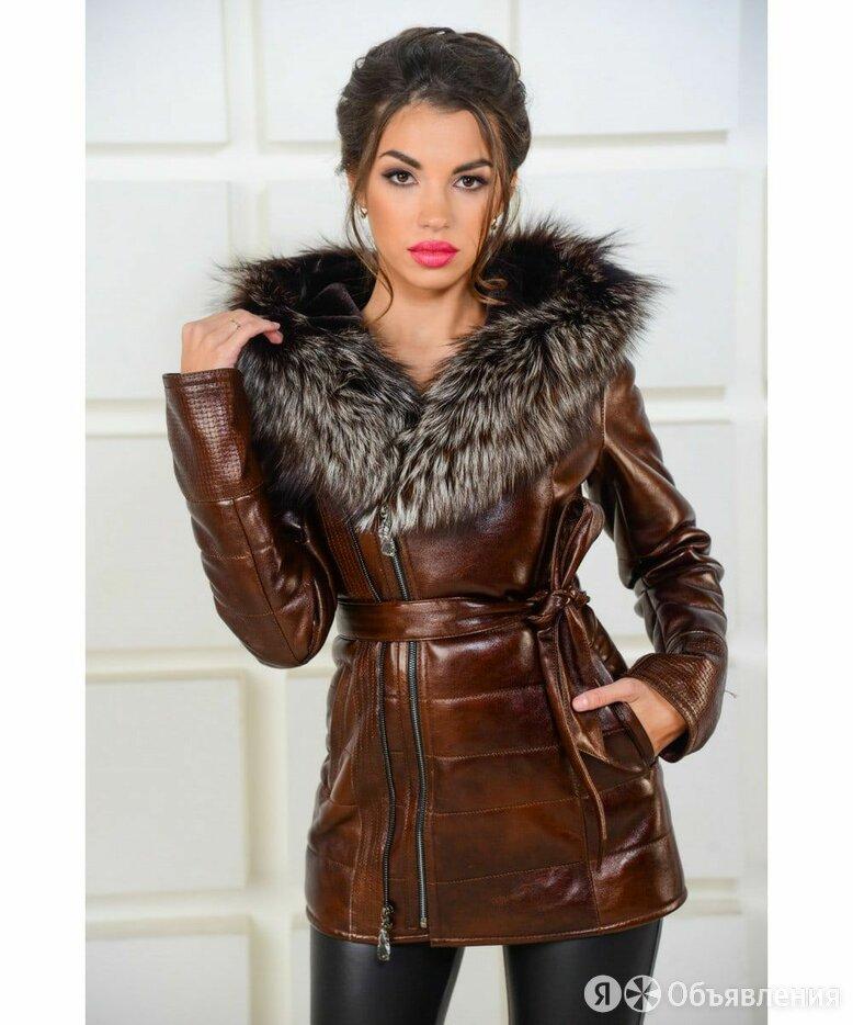 Куртка кожзам женская зима по цене 5000₽ - Куртки, фото 0