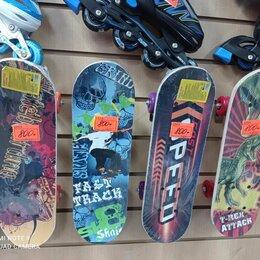 Скейтборды и лонгборды - скейтборд детский Принтованный дека дерево до 35 кг, 0