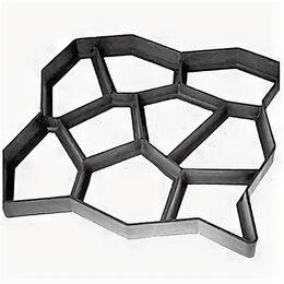 Садовые дорожки и покрытия - Форма для садовой дорожки 50 х 50 см, черный, 0